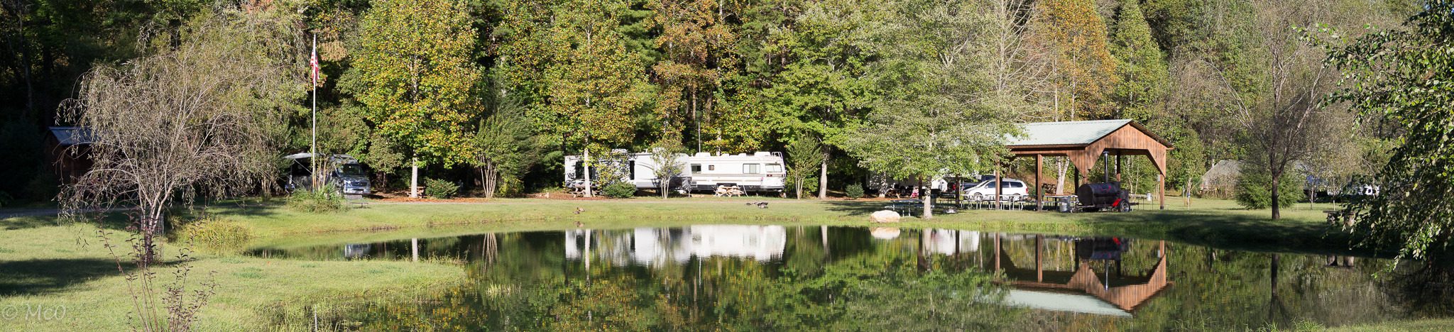 Persimmon campground nr Murphy NC